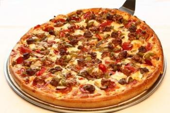 Pizza gà BBQ